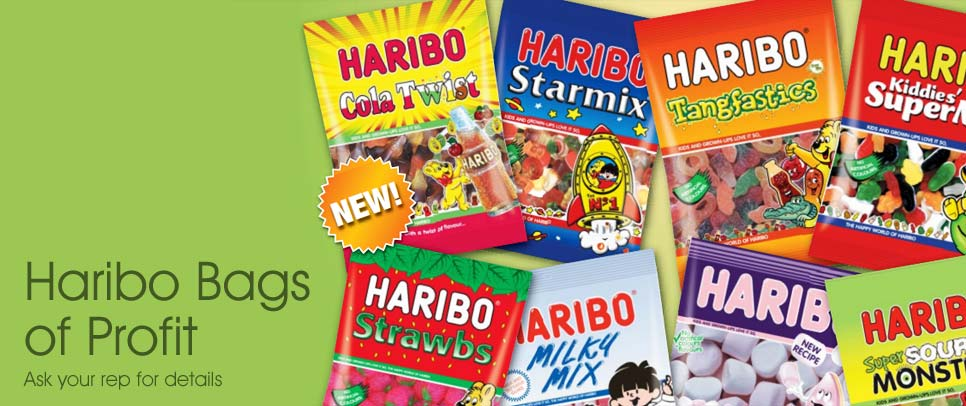 Haribo - Bags of Profit - Ask your rep for details
